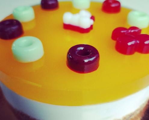 Varskes tortas be glitimo